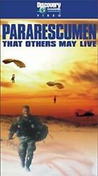 Pararescumen That Others May Live Vhs, 2000 Rare Ntsc Video Sealed