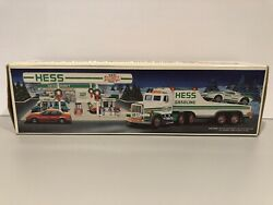 1991 Hess Toy Truck And Racer Hess Race Car Brand New In Original Box Case Fresh