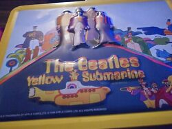 1999 Apple Corps Ltd. Beetles Nothing Is Real Yellow Submarine Lunchbox