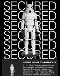Star Wars Kenner Stormtrooper Gentle Giant Limited Edition LifeSize Statue NTWRK