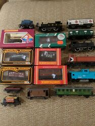 Lot Of 17 Model Trains Different Brands Makers