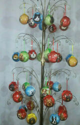 Christmas Ornaments-choose Dog Or Cat Breed From 36 Variations-shatterproof