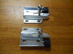 1967 1968 Ford Mustang And Shelby Fastback Fold Down Rear Seat Side Latch Pair New