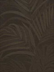 58 Yd Natural Fiber Wallpaper R216/yd Travelers Tree Cl Cocoa