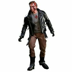 The Terminator T-800 Battle Damaged Version 1/6 Scale Figure 12.5and039 Hot Toys