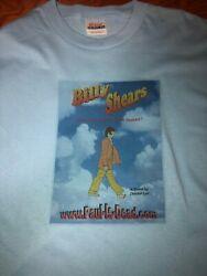 RARE Beatles Billy Shears Paul is Dead 2-Sided T-Shirt  Size XL Preowned