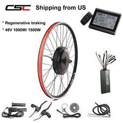 Ship From Us 700c 26-29and039and039 Motor Wheel Electric E Bike Conversion Kit 1500w 1000w