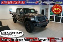 2020 Jeep Gladiator Rubicon 2020 Jeep Gladiator Rubicon 8 Miles Crystal Metallic 4D Crew Cab 3.6L V6 24V VVT