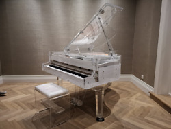 Self Playing Brand New Crystal Transparent Grand Piano