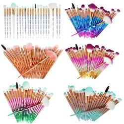 20Pcs 32 pcs Eye Makeup Brushes Tool Set Eye Shadow Foundation Powder Eyeliner $8.99