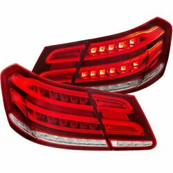 Anzo Led Tail Lights 4d Red/clear For 10-13 E Class W212 - 321331