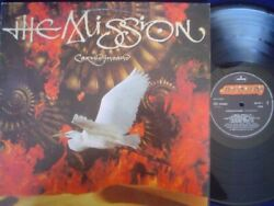 THE MISSION lp CARVED IN SAND brazil ID# 37571 MERCURY 846937-1 NM NM automat77