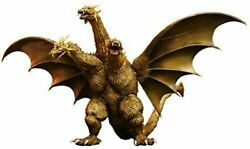 Toho Large Monsters Series King Ghidorah 2001 Height Approx 300mm Pvc-paint