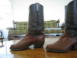 Vintage- One-of-a-kind Custom Made Cowboy Boots Made In South Dakota Sz9-9.5