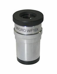 10x Eyepiece With Walton Beckette Reticule For Asbestos Pcm Microscope