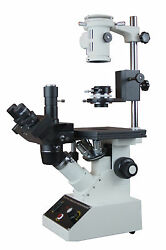 Biology Inverted Tissue Culture Medical Microscope W Phase Contrast Camera Port