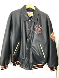 Ny Yankees All Leather Jacket L