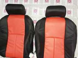 Fits For Infiniti G35 2003-2006 Replacement Leather Seat Covers Black/red