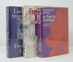 Frederick Exley - A Fan's Notes  Pages Cold Island  Last Notes Home ALL 1st 1s