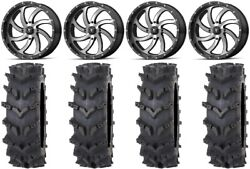 Msa Mach Switch 20 Wheels 36 Outback Maxand039d Tires Polaris Rzr Turbo S / Rs1