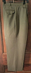 New Beautiful Orvis Womans 100 Wool Fully Lined Pants Size 16