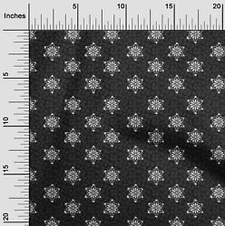 Oneoone Floral Block Print Fabric By The Yard - Bp-1354a_1