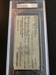 Rocky Marciano Psa 10 Check Extremely Difficult To Locate