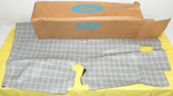 1964 1/2 1965 Ford Mustang Coupe Gt Nos Rear Trunk Mat Luggage Compt Floor Cover