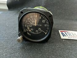 Gates Learjet Mach Airspeed Indicator