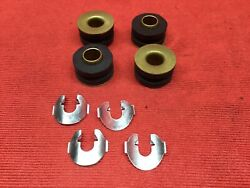 1965-1972 Ford F-series Truck New Manual Shift Linkage Bushing And Clip Set