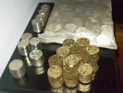 Collection Lot Over 500 Rare Israel Old-shekel Coins Unc