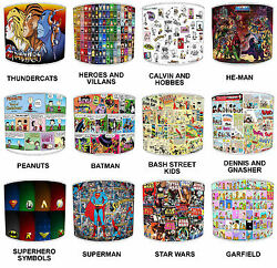 Lampshades Ideal To Match Comic Book Super Heroes Bedding Sets And Duvet Covers