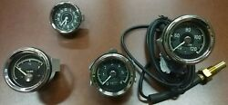 Gauges fit Mercedes 190sl: clock, water temperature, oil pressure and fuel gauge