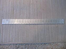 Stanley No. Ar-100 Aluminum Rafter And Framing Square Mid-century Vintage