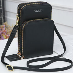 Women Small Cross body Cell Phone Case Shoulder Bag Pouch Handbag Purse Wallet $15.99