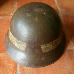 Old Japanese Iron helmet Antique WW2 Rare