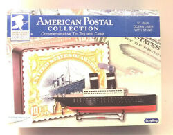 Schylling St Paul Ocean Liner Us Postal Collection Tin Toy And Case New Nib
