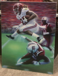 Alabama Framed Canvas The Hurdle 'd/25 By Daniel Moore Very Rare