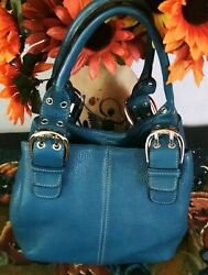 Women's Cool Medium Blue Leather