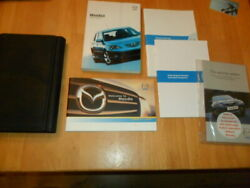 Mazda 3 Owners Manuals And Wallet Bk 2003