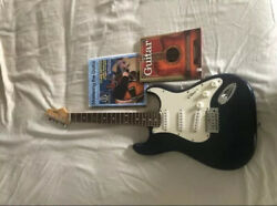 Johnson Js 800 Solid Body Electric Guitar Navy Blue / 2 Guitar Lesson Books