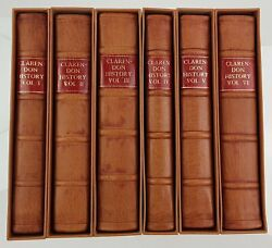 Antique Books 1707 Clarendon History Of The Rebellion And Civil Wars In England