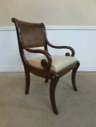 Theodore Alexander Althorp Regency Style Arm Chair, Dining, Library