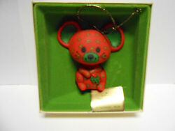 HALLMARK ORNAMENT CALICO MOUSE TREE TRIMMER COLLECTION 1978
