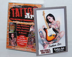 Tattoo Art Collectible Trading Cards 2012 Factory Sealed Card Set Autograph