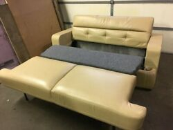 Flexsteel 74 Fold And Tumble Rv Sofa Bed Couch Tan Ft Motorhome Boat