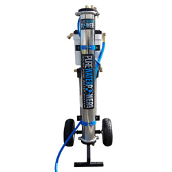 Pure Water Power 4-stage Rodi Water Purification Cart System