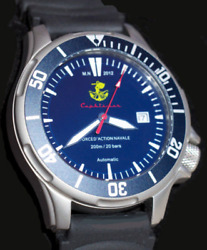 Dolphin - Cephismer 200m - French Navy Military Watch With Certificate