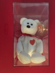 Valentino The Bear Ty Beanie Baby Brown Nose.excellent Condition. Errors