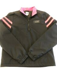 New After Dark Anorak Reflective Jacket Womens Small Msrp 85 Black